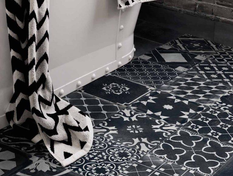 Sanitair en tegels Maas & Waal Belle Epoque-serie-2019-re-style mix black