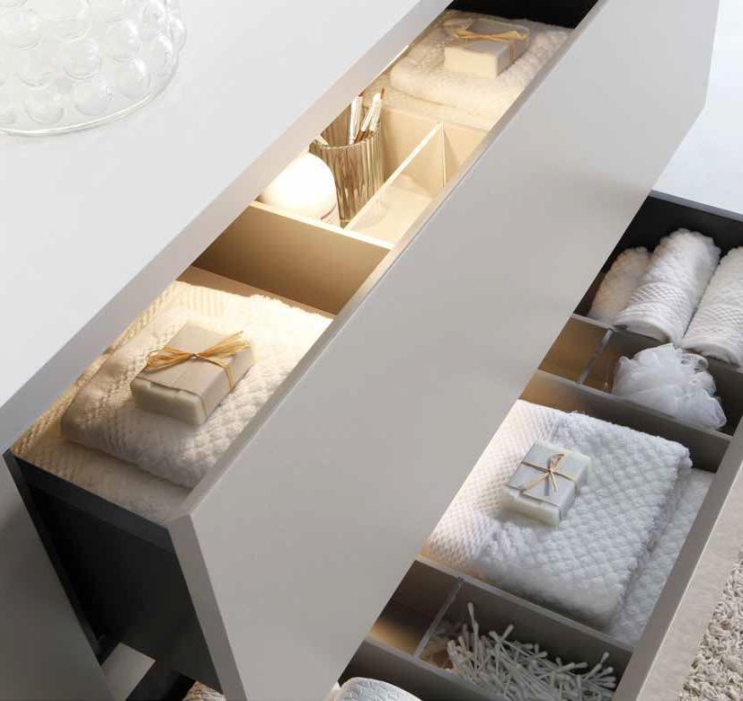 Badkamer meubel METALIZADO